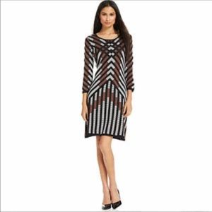 NINE WEST tumbleweed sweater dress